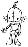 robot-bw